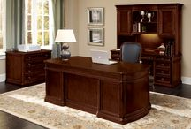 Office Suite / These are some of our favorite looks for putting together a total office. From contemporary to traditional. There is a look for every style!