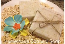 Homemade Scrubs & Soaps / by Angie Lee {Seven Clown Circus}