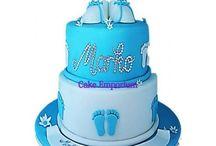 Christening/baptism cakes