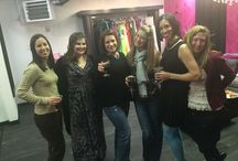 Book a private shopping party! / Private shopping event for ladies who would like one on one time shopping and a personal stylist to help dress them.
