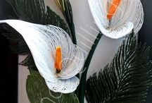 Blumen QUILLING