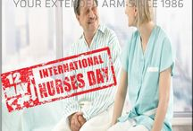 12 May International Nurses Day / International Nurses Day is observed on May 12,2015.It is celebrated around the worldto mark the contributions nurses make to society.In January 1974 was chosen to celebrate the day as it is the anniversary of the birth of Florence Nightingale,who is widely considered the founder of modern nursing.Each year,ICN prepares and distributes the International Nurses' Day Kit.The kit contains educational and public information materials,foruse bynurses everywhere.