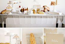 French inspired bridal shower