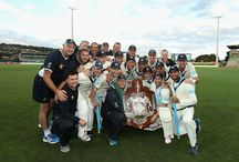 Bushrangers celebrate Sheffield Shield 29 / The Victorian Bushrangers celebrate winning Sheffield Shield title 29 in Hobart, after holding on for a draw against Western Australia.