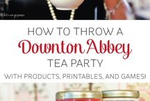 Downton Abbey / Perhaps you have heard of our High Tea at Downton Abbey programs?! We love Downton Abbey all year long and love talking about it.