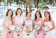 Blush Bouquets and Flowers