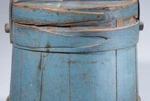 バケツ、樽など