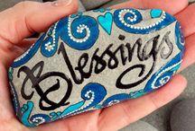 Stone painting / Rock art