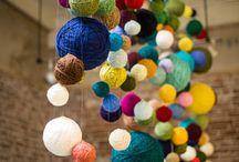 Yarn store inspiration