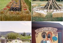 Country Wedding / Fun country wedding ideas and inspiration
