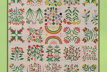 Shenandoah Valley Botanical Album Quilt