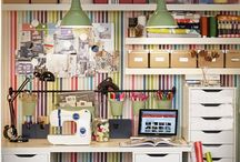 Office craft room / by Monica Poore