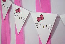 cumpleaños Adhara hello kitty
