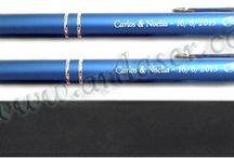 Bolígrafos / Bolígrafos metálicos personalizados con elegantes estuches. Pregunta por nuestras tarifas sin compromiso.