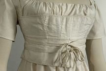 early 19th century stays / corsets