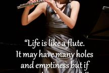 music and flute