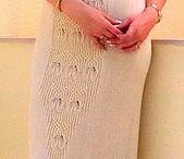 knitting WOMAN dress