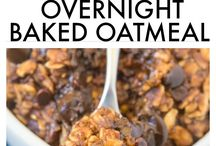 Vegan Oatmeal / Delicious and healthy oatmeal recipes. No dairy, no egg, fully plant-based.