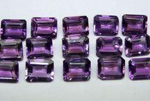 Emerald Cut Octagon Loose Gemstones / Calibrated Loose Octagon Gemstones for Jewelry Designers