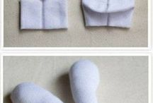 hračky ze starých ponožek