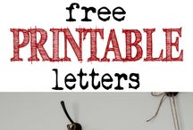 Letter templates / by Christina Van Kirk