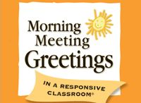 School - Morning Meetings
