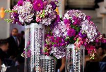 Pink and Purple Weddings