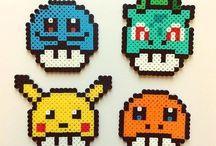-hama beads pokemon-