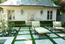 Yard: patio
