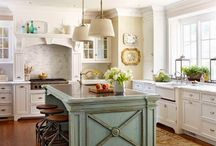 Cynthia's kitchen island / kitchen island