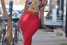 African print tops