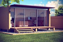 Shipping container office idea