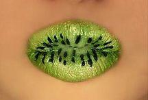 Lip Art / Lip Artworks and Detailed Lip Designs / by Fritzi Schwenkhoff