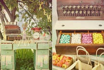 Candy Buffets - Rustic