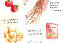 Ilustraciones, dibujos...