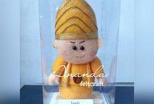 Ananda Feltcraft / Kreasi craft & souvenir berbahan flanel