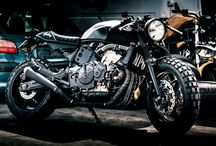 Honda Hornet scrambler