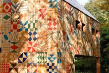 Barns with Quilts
