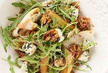 Блюда салат из руколы