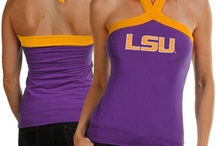 LSU Tigers Gear / Savor the adrenaline of gameday with officially licensed LSU Tigers apparel and merchandise from the ultimate sports store! Sport your enthusiasm for Louisiana State University athletics with licensed LSU Tigers jerseys, T-Shirts, hats and sweatshirts from Football Fanatics. Get your LSU clothing and gear from the Ultimate Sports Store and take advantage of our low $4.99 3-day shipping on your entire order! Geaux Tigers! / by Fanatics ®