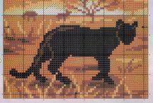 Africa cross stitch