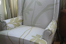 Chairs & Stools (covering/making/ideas) / Ideas & help on covering the armchair