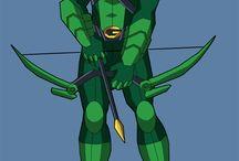 Ryder's green arrow room