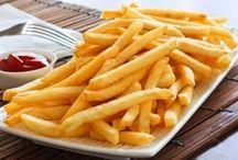 hranolky a zemiaky