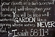 Favorite Verses and Quotes