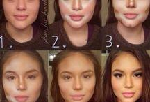 makijaż konturowanie