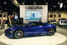 Calgary International Truck and Auto Show show stoppers! / Acura Automotive