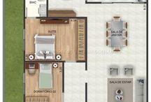 plano casa 1 nivel