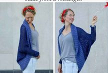 Easy crochet shrug