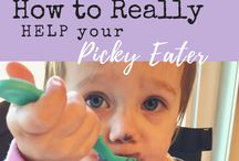 Picky Eater Inspiration / Recipes & Tips for Moms with Picky Eaters